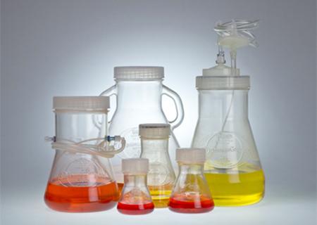 Dyrkingsflasker og filtre
