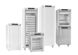 Lab-kjølere og lab-frysere fra GRAM Commercial